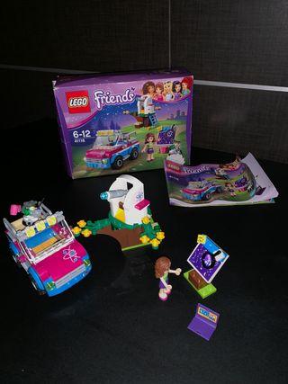 LEGO Friends 41116 Coche de exploradora de Olivia