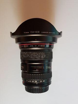 Objetivo Canon 17-40 L USM