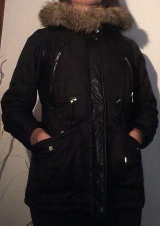 Chaqueta/abrigo negro Zara