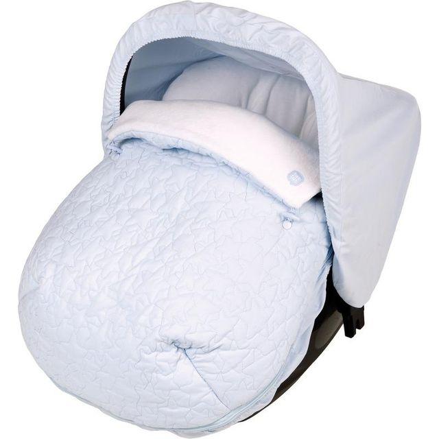 Mini saco de invierno acolchado celeste TUC TUC