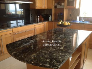 Top Quality Agatha Black Granite Kitchen Worktop