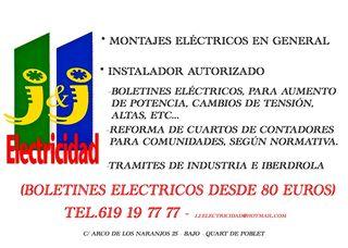 ELECTRICISTA ECONOMICO-BARATO