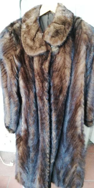 Vendo abrigo de vison en barcelona