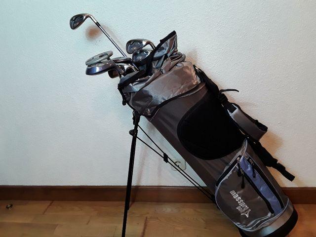 cfbd3d23d11f1 Vendo palos de golf de hombre y de mujer de segunda mano por 85 € en ...