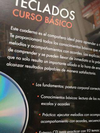 Curso Básico de TECLADOS. Nuevo con CD practicas.