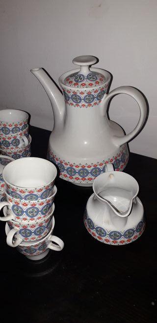 Juego de Cafe de Porcelana