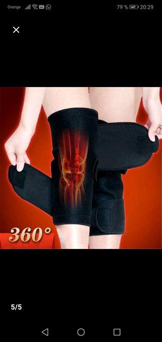 Malla terapéutica para rodilla
