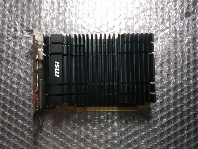 Tarjeta gráfica: GeForce GT 1030 2GH OC