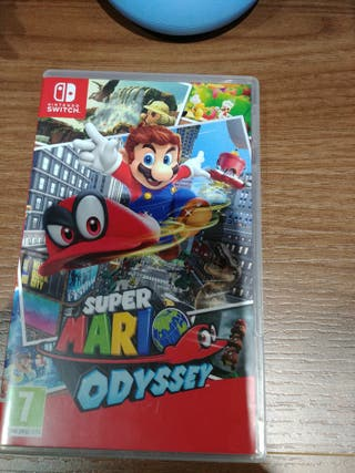 Super Mario Odysey nintendo switch