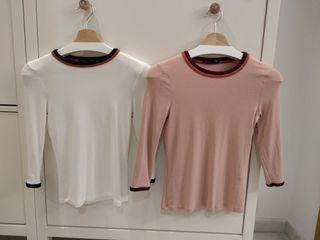 Camiseta Zara mujer Talla S de segunda mano por 3 € en