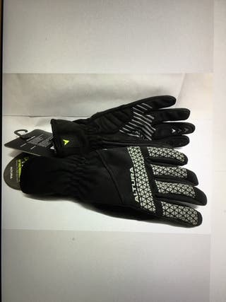 Altura night vision cycling gloves.