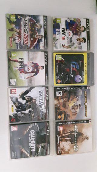 Oferta Juegos PS3 Seminuevos