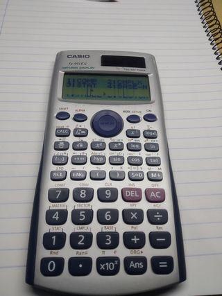 Calculadora cientifica para piezas