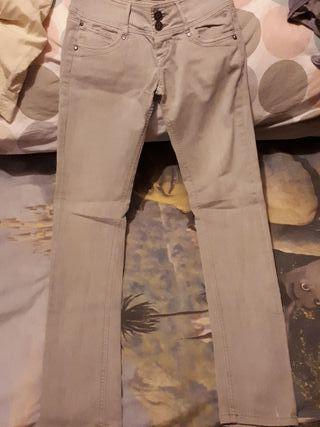 Pantalón vaquero largo mujer