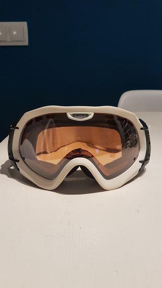 máscara snow / ski Dragon doble lente