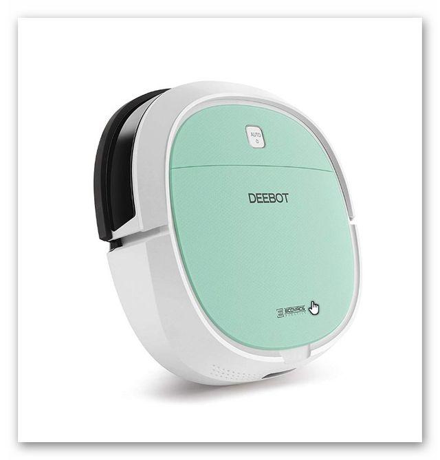Robot aspirador ultrafino Ecovacs