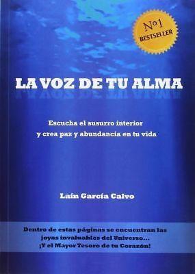 Libro La voz de tu alma NUEVO (Lain García Calvo)