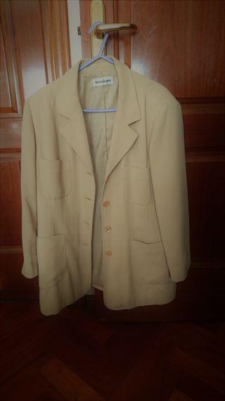 Blazer o chaqueta americana beige