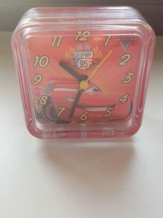 Reloj Despetador Cars.