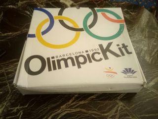 kit olímpico de Barcelona 1992