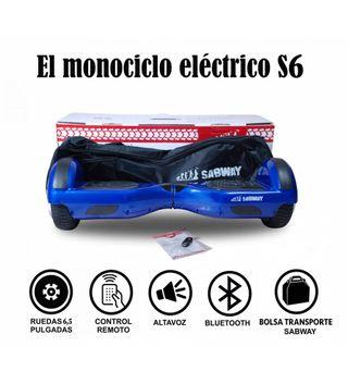 Hoverboard S6 monociclo y hoverkart de regalo