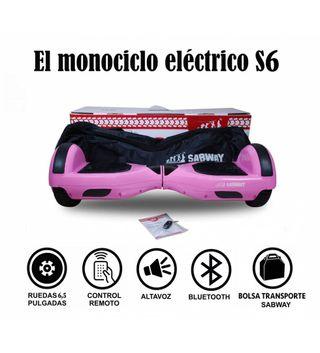Hoverboard S6 Rosa y hoverkart de regalo