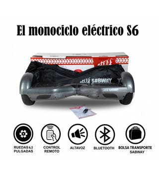 Hoverboard S6 monociclo + hoverkart gratis