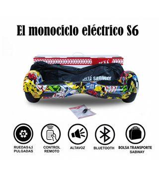 Hoverboard S6 monociclo Con hoverkart gratis