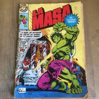 Comic 'La Masa' increible Hulk