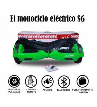 Hoverboard S6 monociclo + hk de regalo