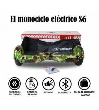Hoverboard S6 monociclo millitar + hoverkart grati
