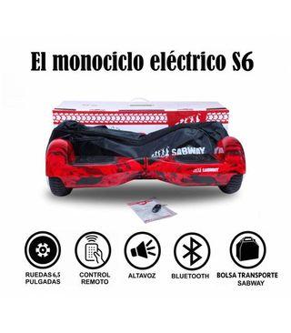 Hoverboard S6 fuego con hoverkart gratis