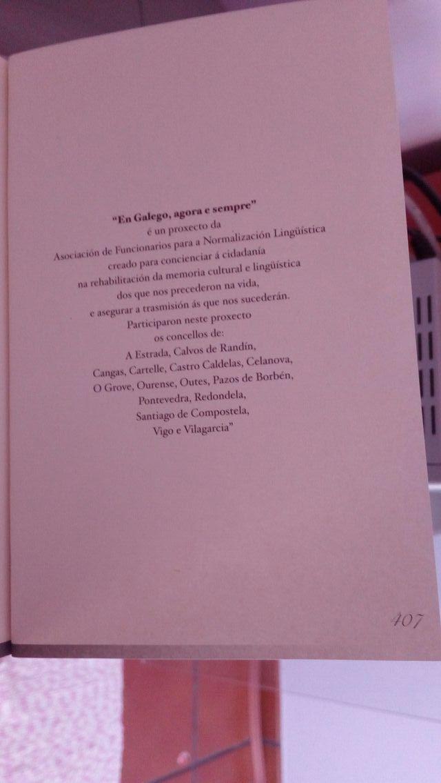 libro escritores galegos