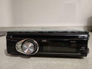 Radio CD/MP3 JVC para coche
