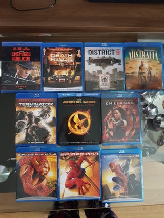 Lote peliculas Blu-ray