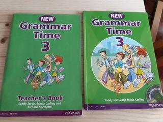 Libros de texto inglés Grammar Time 3