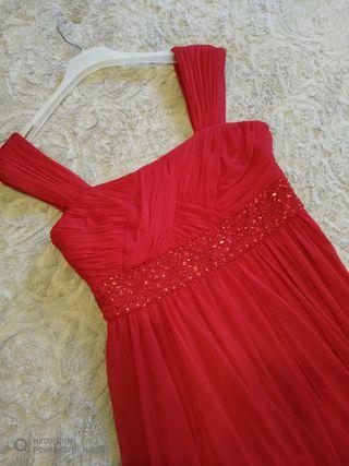 Vestido fiesta Easy wear rojo seminuevo