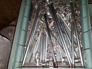 piezas de freno de varillas de bicicletas antiguas