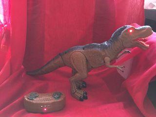 Dinosaurio fiaya juguete radio control