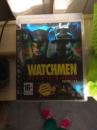 Juego ps3 Watchmen