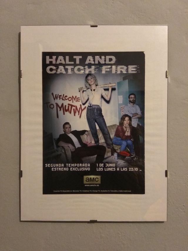 Cuadro Halt and catch fire