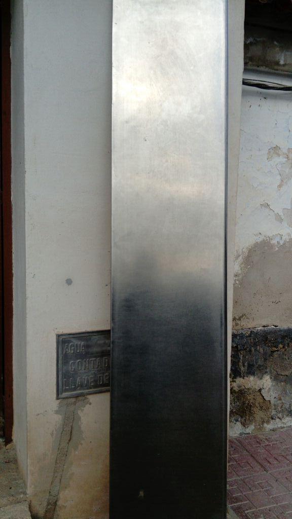 Encimera de acero inoxidable