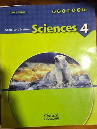 libro sciences 4 social and natural