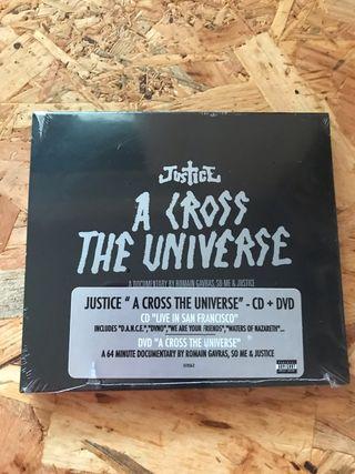 Justice Live Cd+Dvd NUEVO