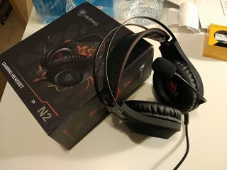 Auriculares gaming pro
