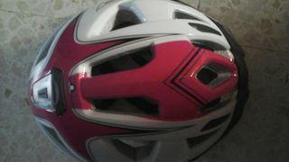 casco rosa de mujer niña talla S
