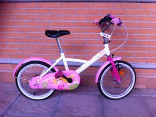 Bicicleta Niña 4-6 Años