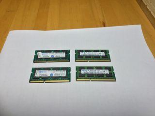 4 x 4GB RAM 1333 MHZ DDR SO-DIMM