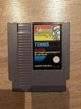 Juego tennis Nintendo nes entertainment system
