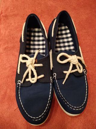 Zapatos- zapatillas niño marinero verano